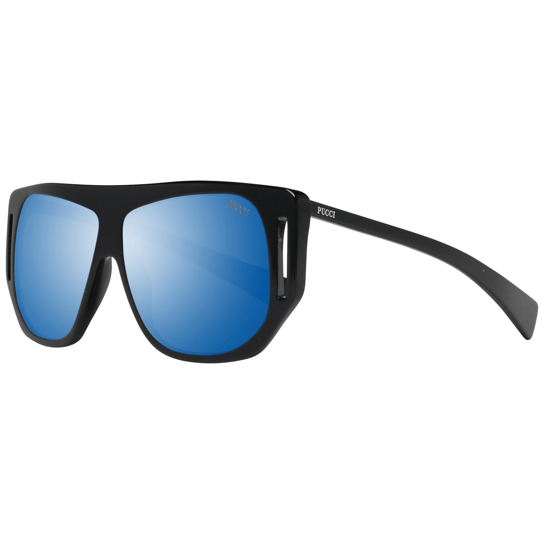 Emilio Pucci Women's Sunglasses Black EP0077 57X01