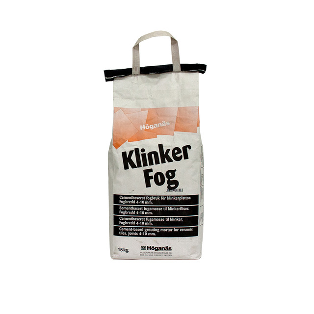 KLINKERFOG FB 200 MELLANGRÅ 15KG