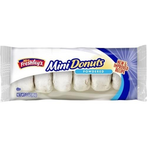 Mrs Freshleys Powdered Mini Donuts 85gram