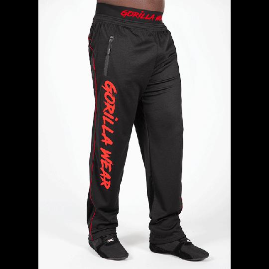 Mercury Mesh Pants, Black/Red