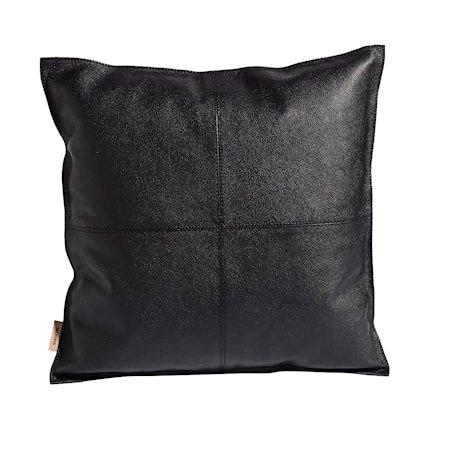 Pillowcase mocca putetrekk – Svart, inkl. innerpute