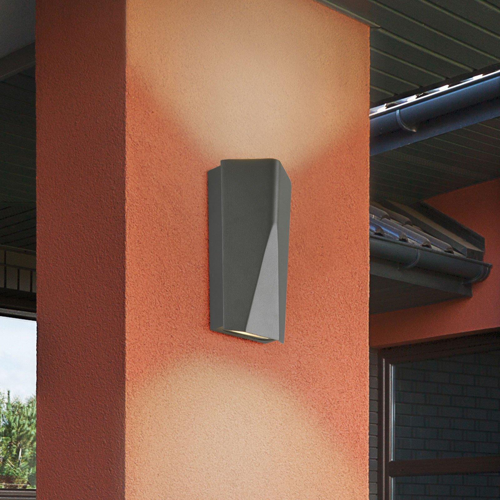 Utendørs LED-vegglampe Tay i trykkstøpt aluminium