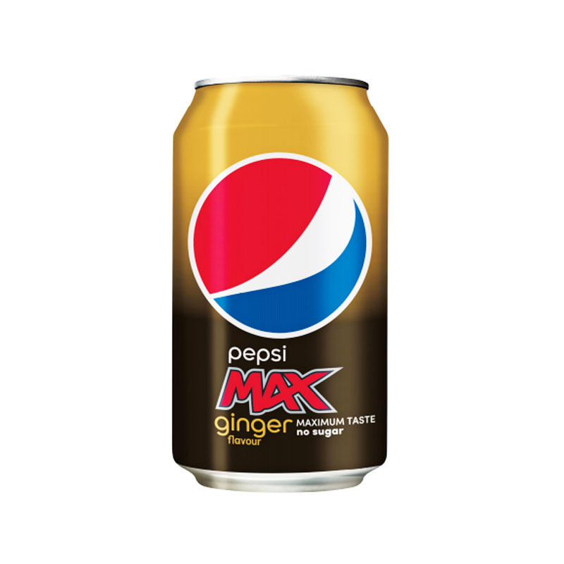 "Pepsi Max ""Ginger"" 33 cl - 44% rabatt"