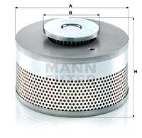 Suodatin, työhydrauliikka MANN-FILTER HD 15 005 x
