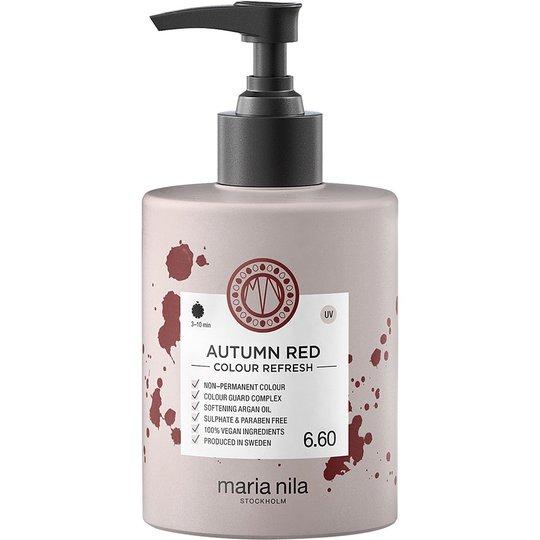Maria Nila Colour Refresh, Autumn Red, 300 ml Maria Nila Tehohoidot