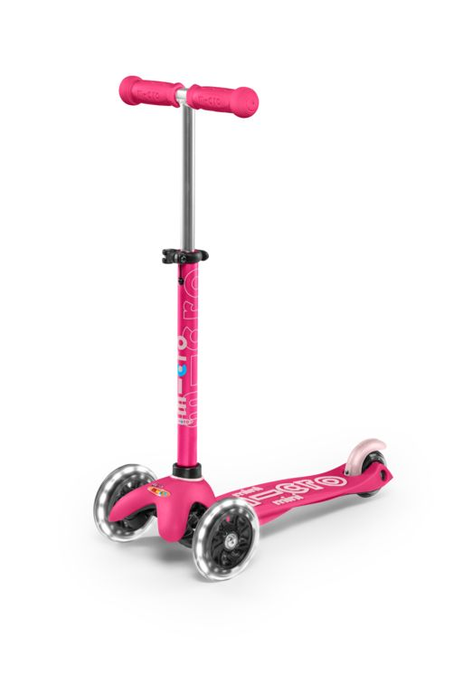 Micro - Mini Deluxe LED Scooter - Pink (MMD075)