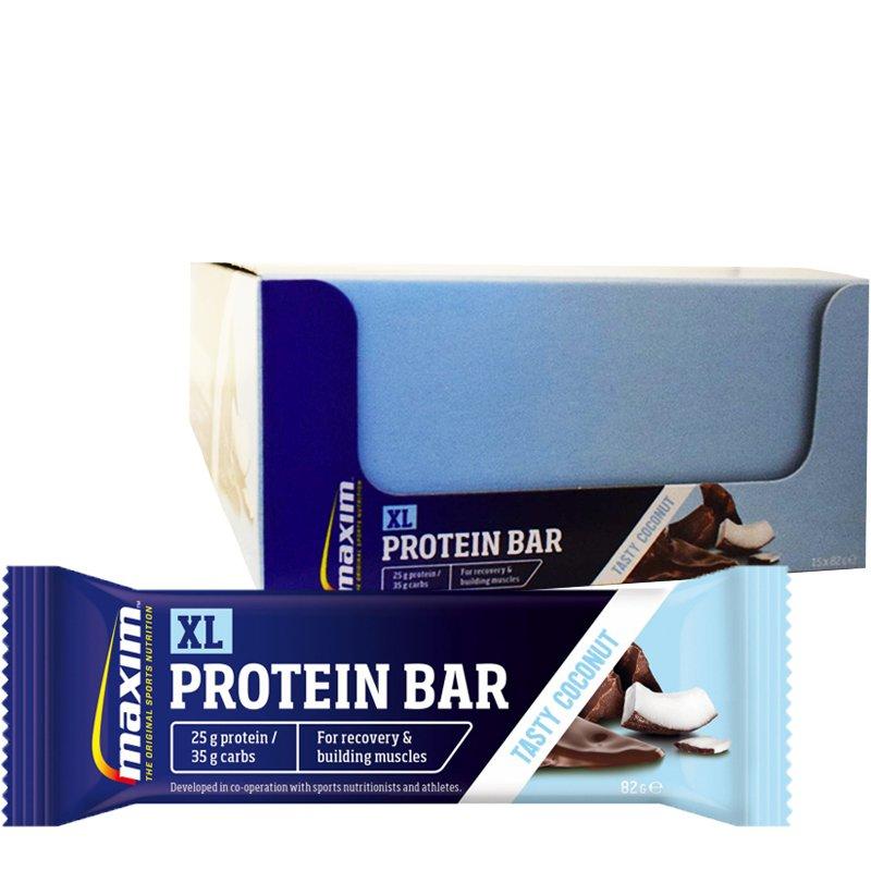 """Laatikollinen Proteiinipatukoita """"Tasty Coconut"""" 15 x 82g - 55% alennus"""