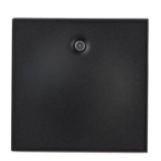 Elko Plus Vipupainike valolla, musta 1-napainen, ilman merkintöjä