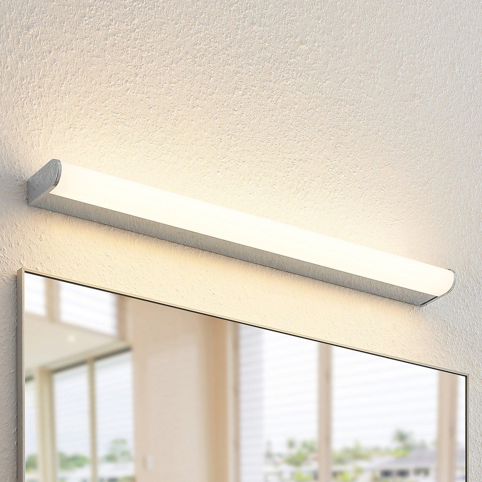 Arcchio Ecaterina LED-vegglampe til bad krom 70 cm