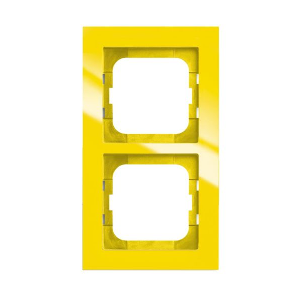 ABB Axcent Kombinasjonsramme gul 2 rom