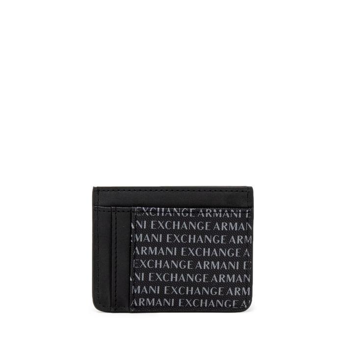 Armani Exchange Men's Wallet Black 261527 - black UNICA