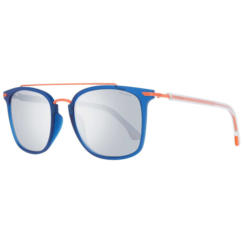 Police Men's Sunglasses Blue PL583M 54Z80X