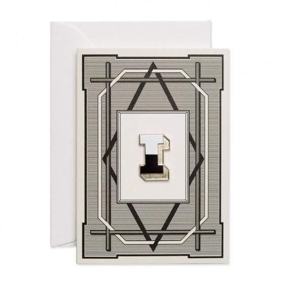 Alphabet Pin & Greeting Card