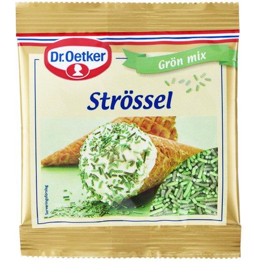 Strössel Grön Mix 20g - 29% rabatt
