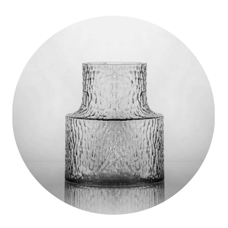 Kolonn vas mellan Skrufs Glasbruk
