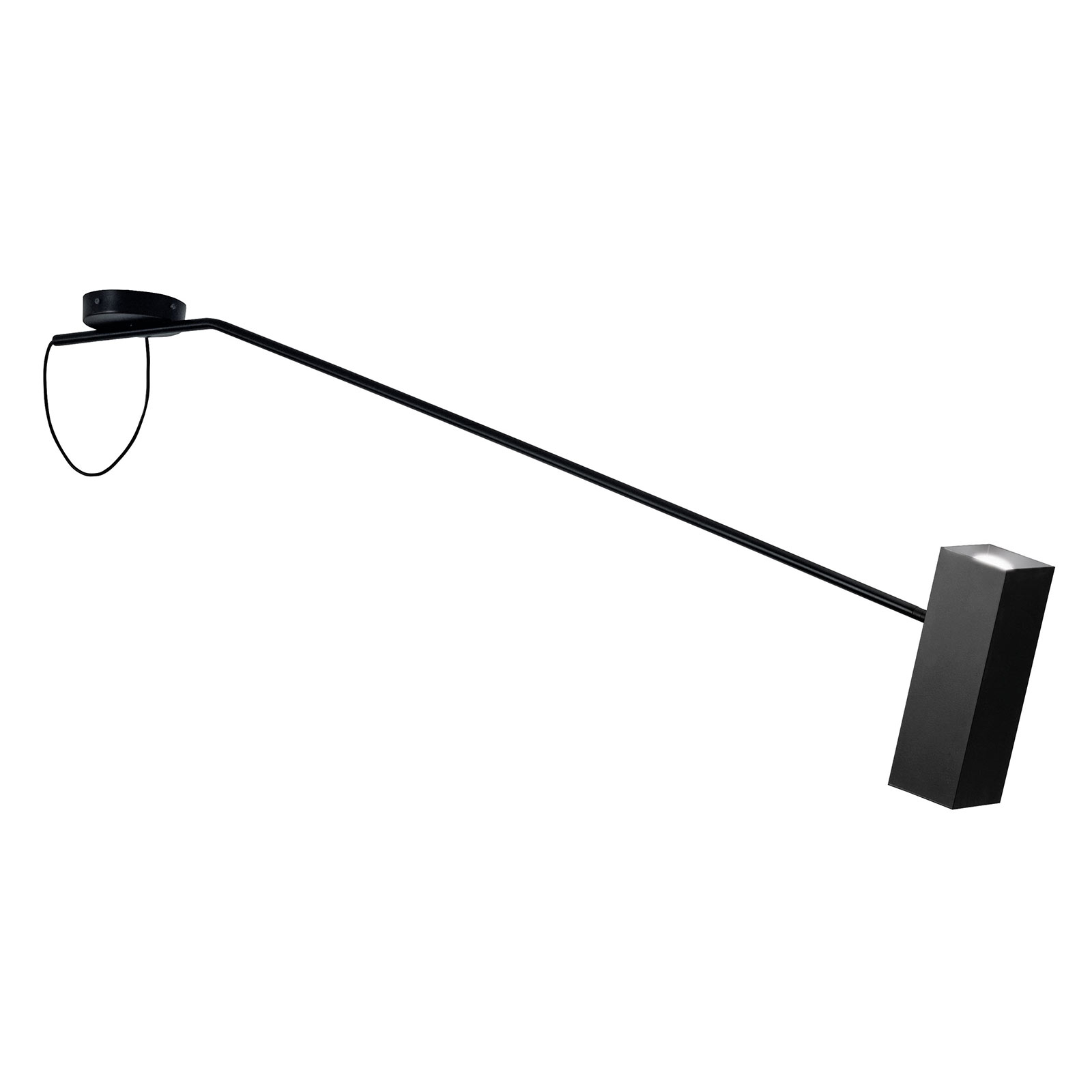 Modo Luce Dejavú kattovalaisin, 165 cm musta