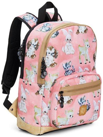 Pick & Pack Ryggsekk Cute Animals, Pink