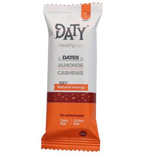 Vegansk bar Dadlar, mandel & cashew - 18% rabatt