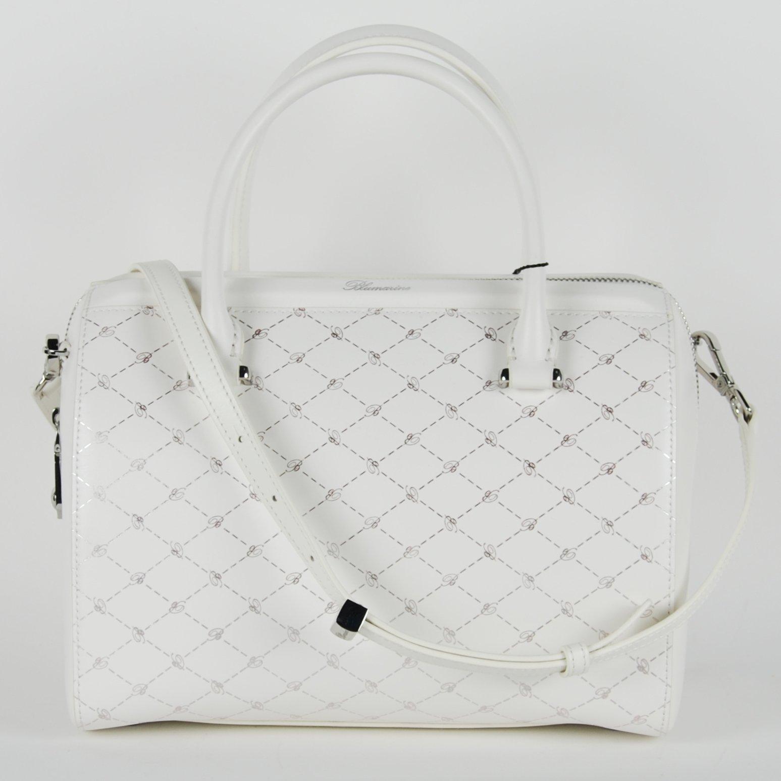 Blumarine Women's Bowling Bag White BL1421540