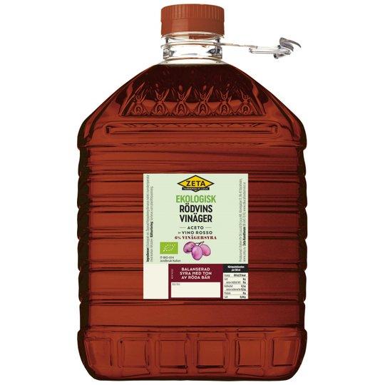 Rödvinsvinäger 5l - 77% rabatt