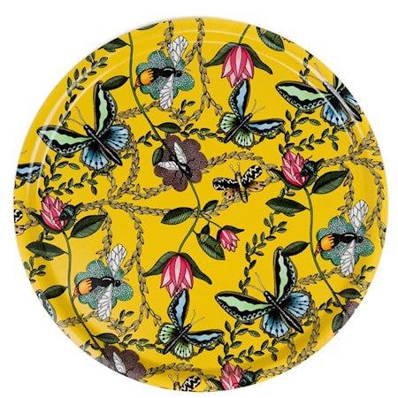 Nadja Wedin Design Brett 65 cm Bugs & Butterflies Gul