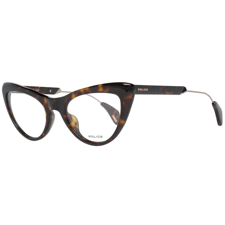 Police Women's Optical Frames Eyewear Brown PL855 50722G