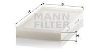 Raitisilmasuodatin MANN-FILTER CU 3540