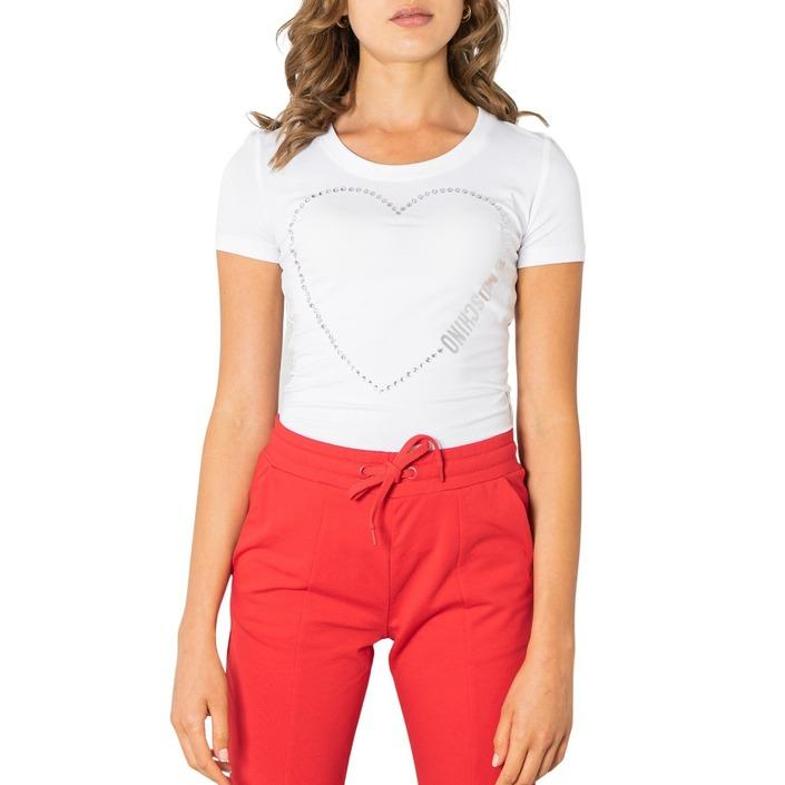 Love Moschino Women's T-Shirt White 320624 - white 38