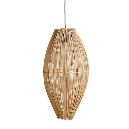 Fishtrap Bambus Large Taklampe 66x35 cm