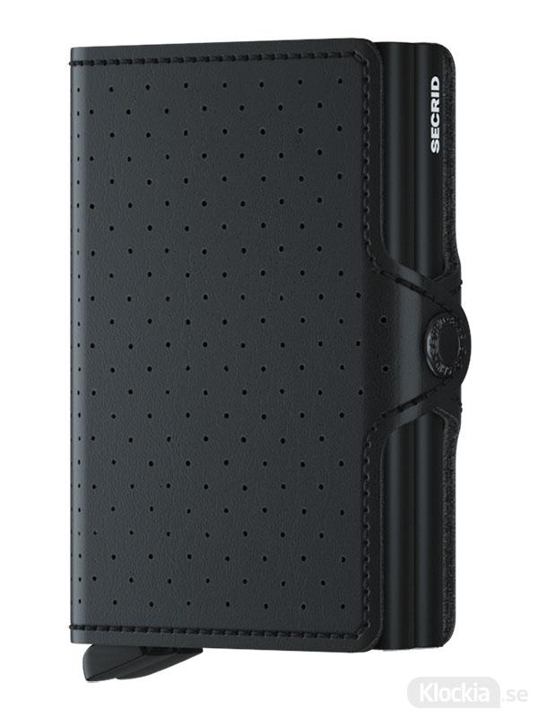 SECRID Twinwallet Perforated Black TPf-Black
