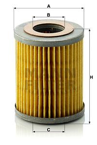 Öljynsuodatin MANN-FILTER H 813/1 x