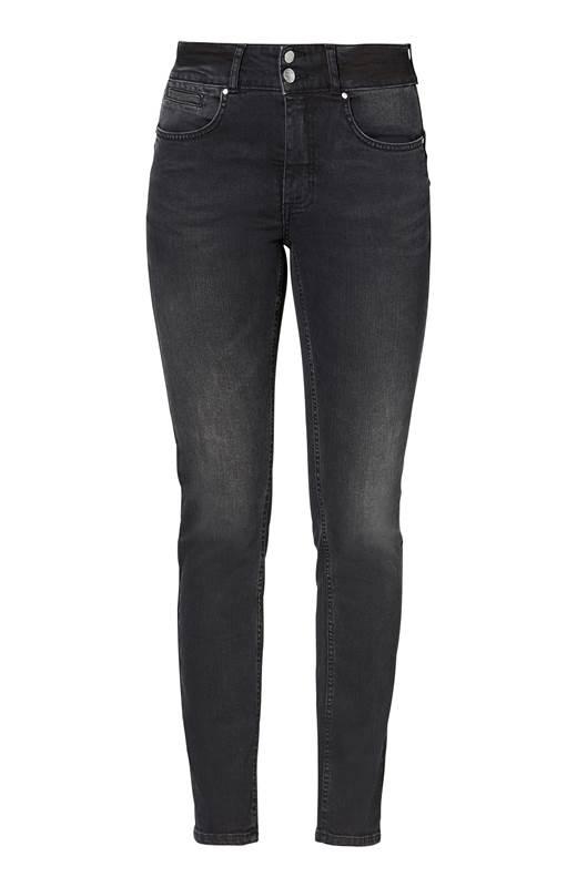 Cellbes Rak push up jeans Selena Svart