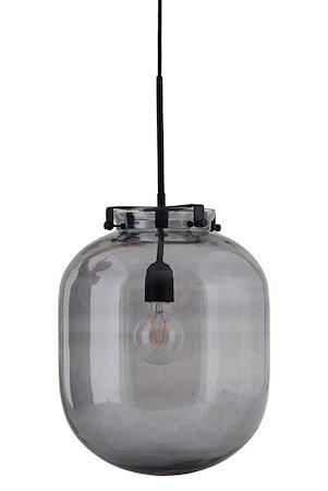 Ball-Jar Lampa Rökgrå D:30cm Glass