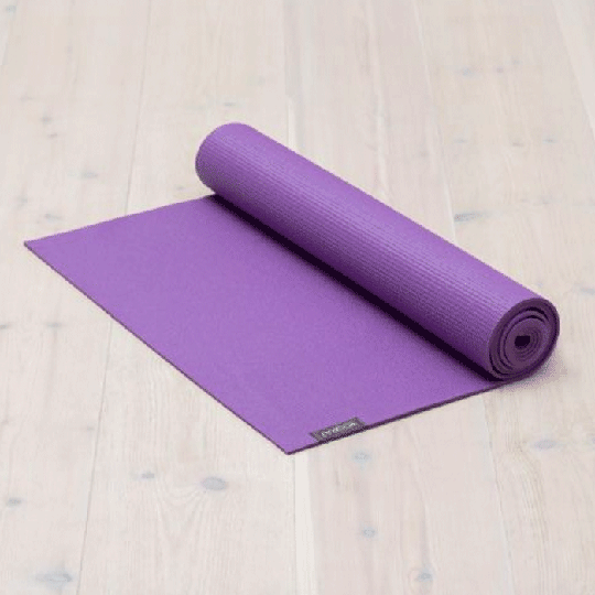 All-round Yoga mat Lilac Purple, 6 mm