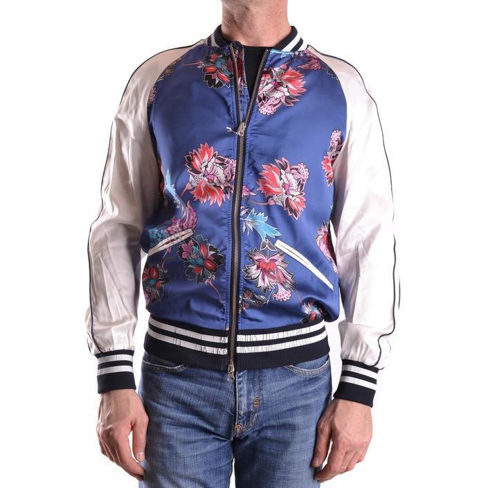 Daniele Alessandrini Men's Jacket Blue 163105 - blue 48
