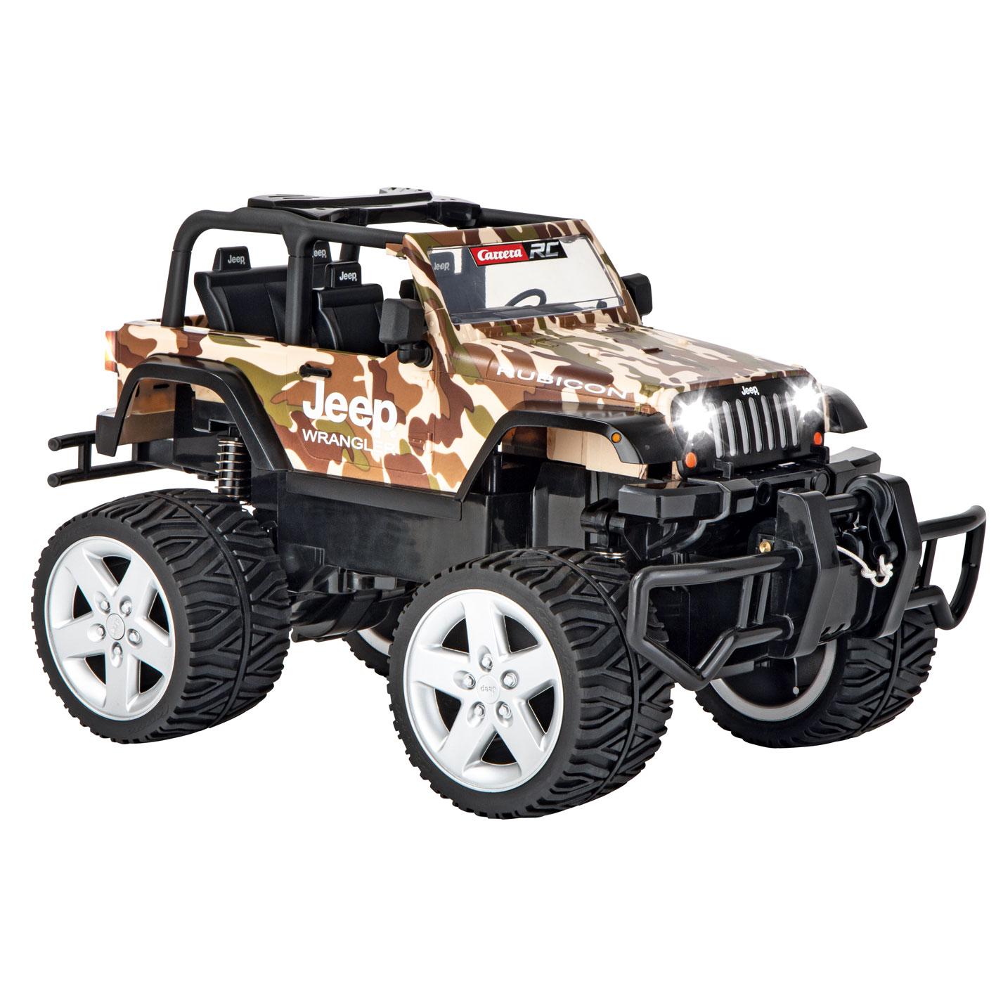 Carrera - Jeep[R] Wrangler Rubicon 2,4GHZ RC - Camouflage (370162122)