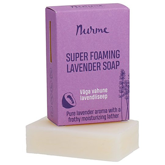 Nurme Super Foaming Lavender Soap, 100 g