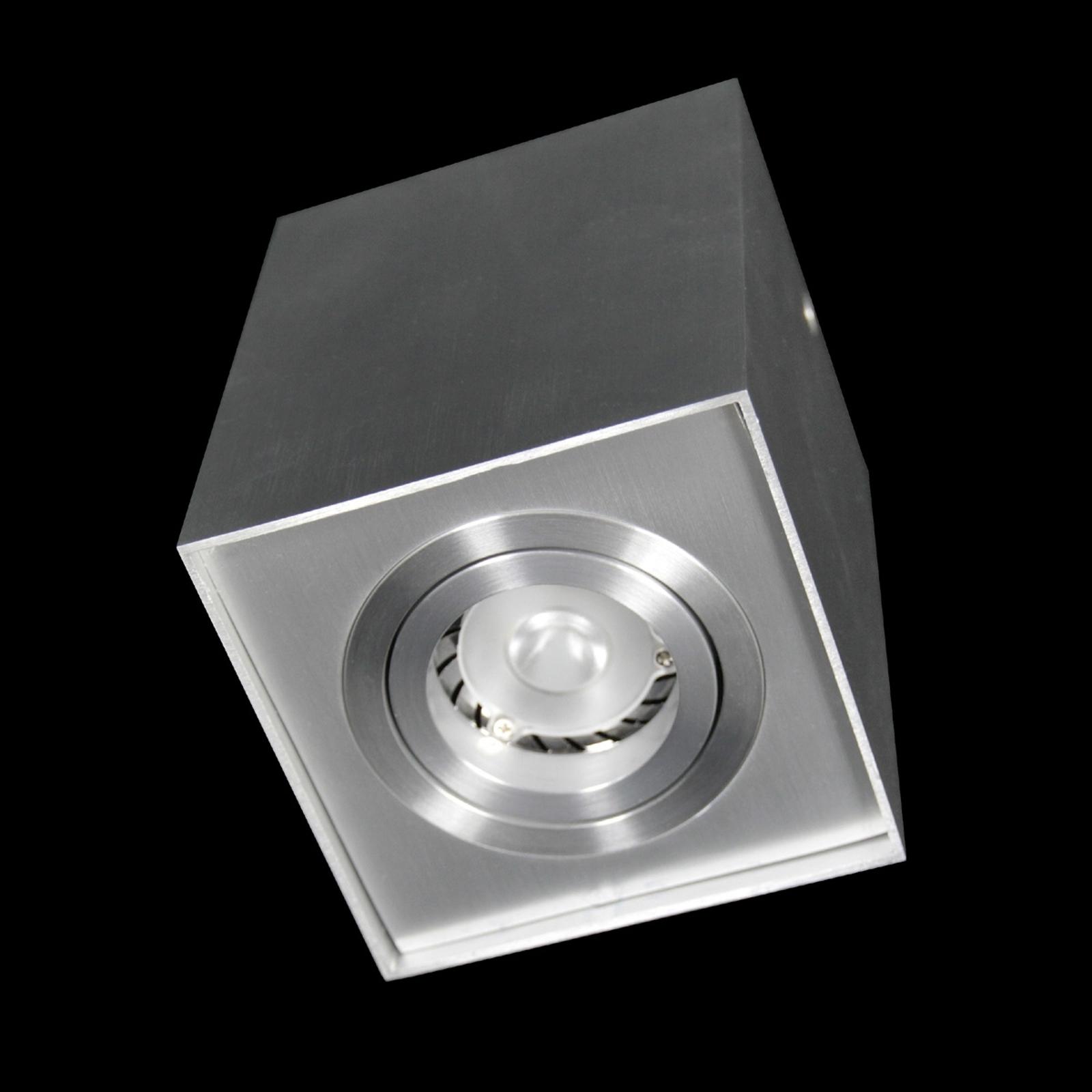 Neliskulmainen SUSE-LED-kattovalaisin