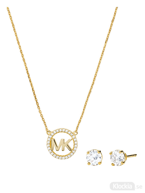 Damsmycke Michael Kors Halsband & Örhängen Premium MKC1260AN710