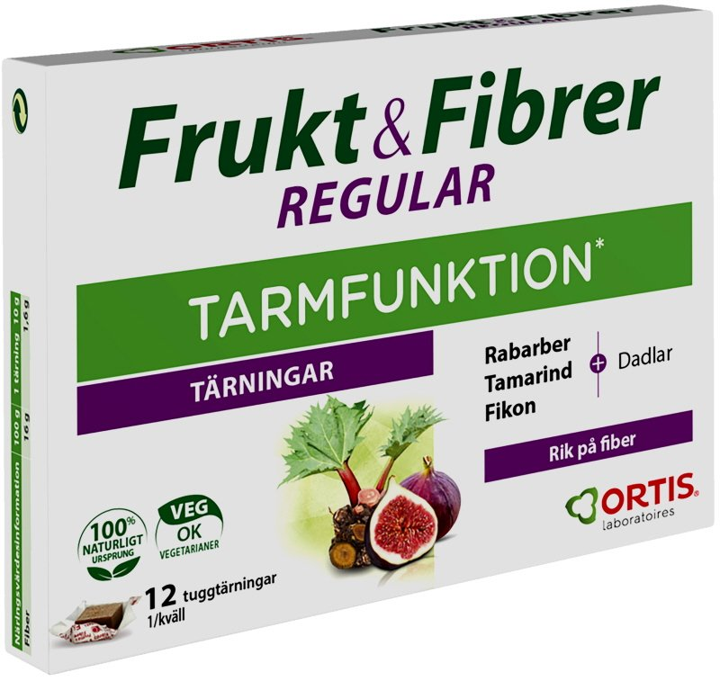 Kosttillskott Frukt & Fibrer - 48% rabatt