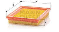 Ilmansuodatin MANN-FILTER C 2237