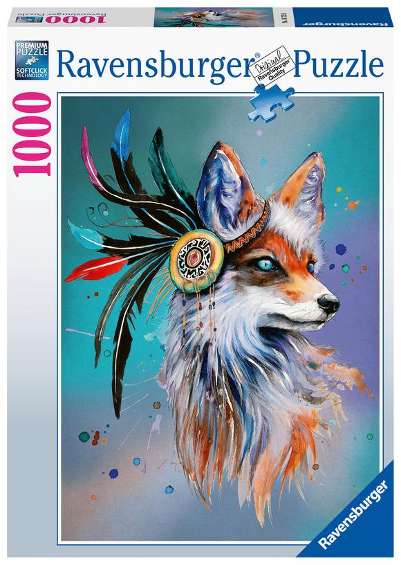 Ravensburger - Puzzle 1000 - Spirit Fox (10216725)