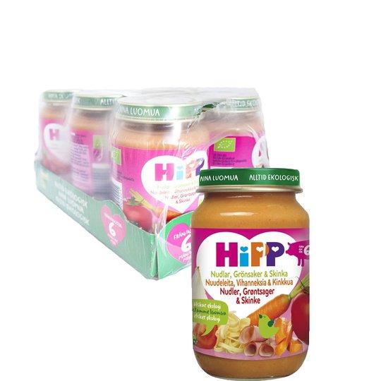 Hel Låda Barnmat Grönsaker & Skinka 6 x 190g - 48% rabatt