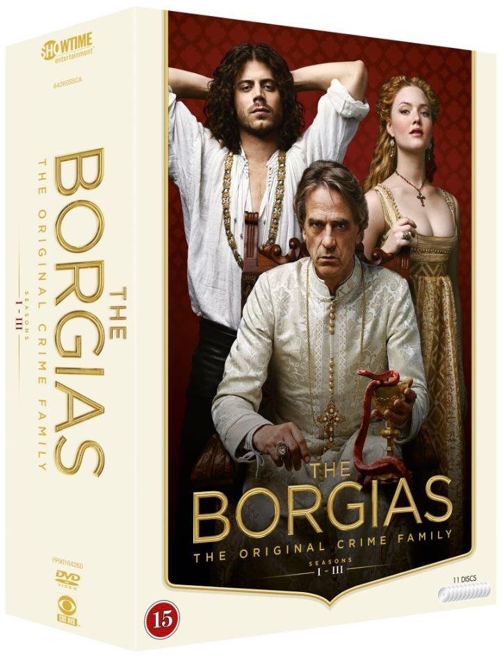 The Borgias: Complete Box - Season 1-3 (11 disc) - DVD
