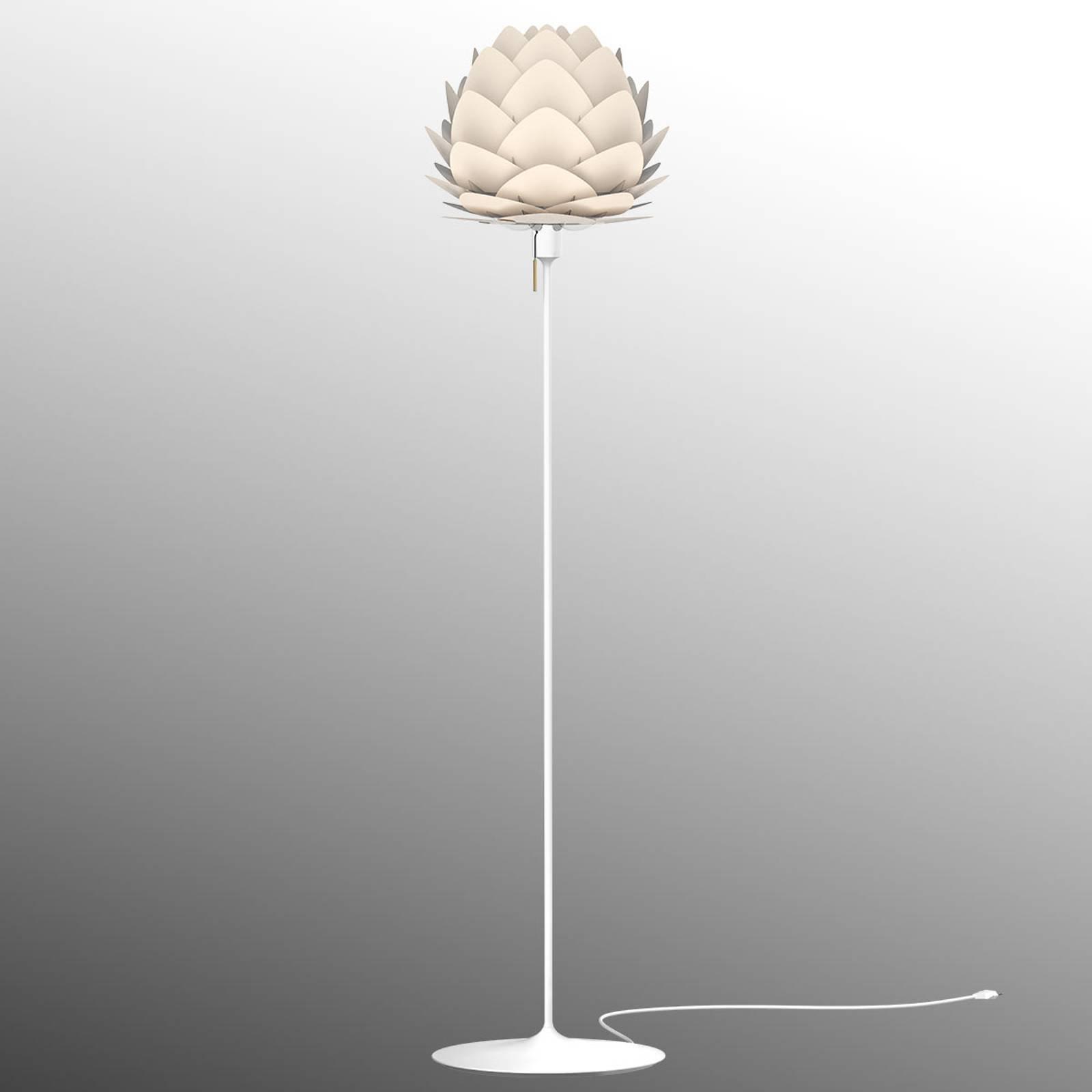 UMAGE Aluvia mini gulvlampe perlemor
