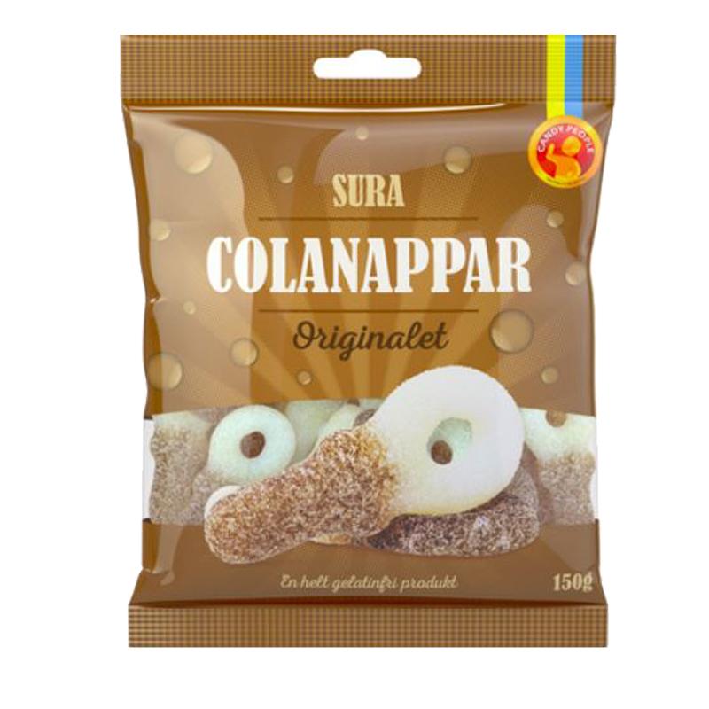 """Godis """"Sura Colanappar"""" 150g - 35% rabatt"""