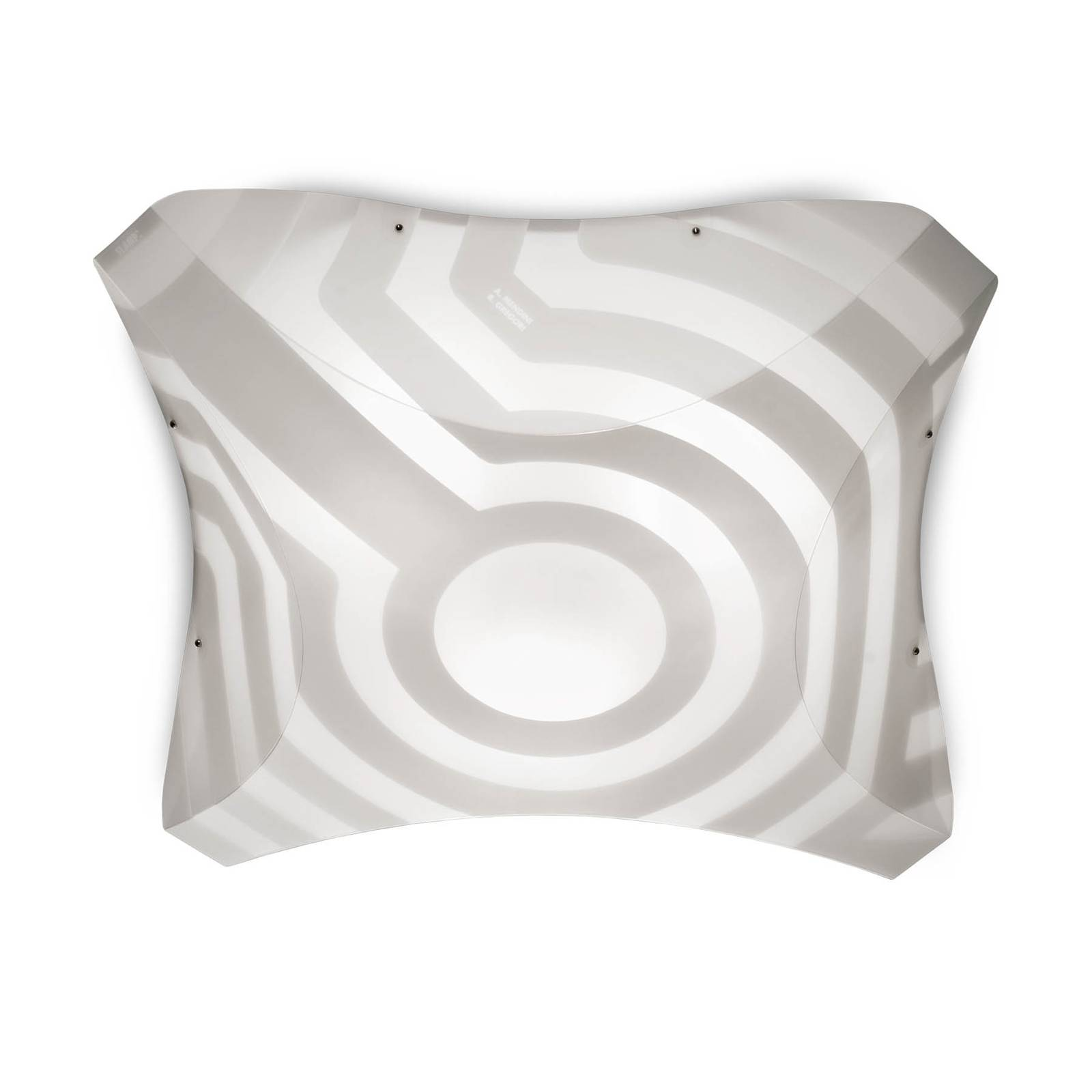 Koristeellinen design-kattovalaisin VENTI 36x36 cm