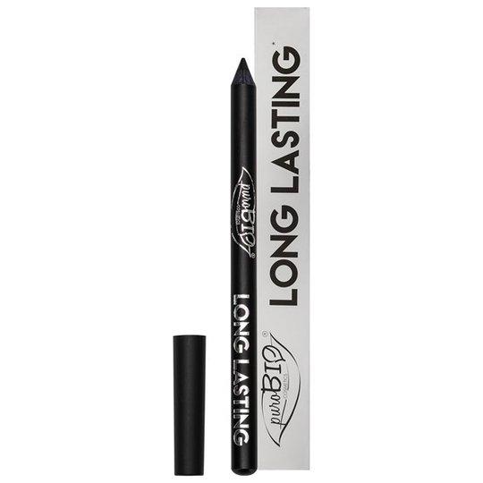 puroBIO Cosmetics Long Lasting Eye Pencil - Intense Black, 1,3 g