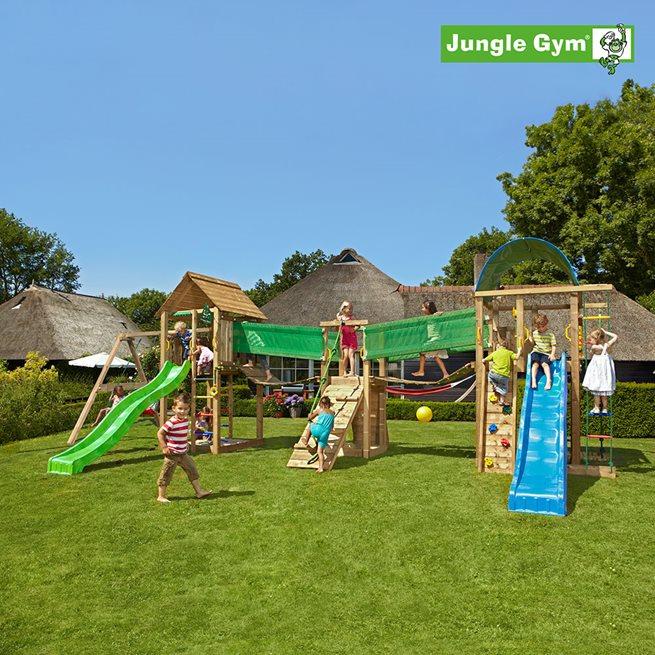 Jungle Gym Lekuniversum 3 komplett, Klätterställning
