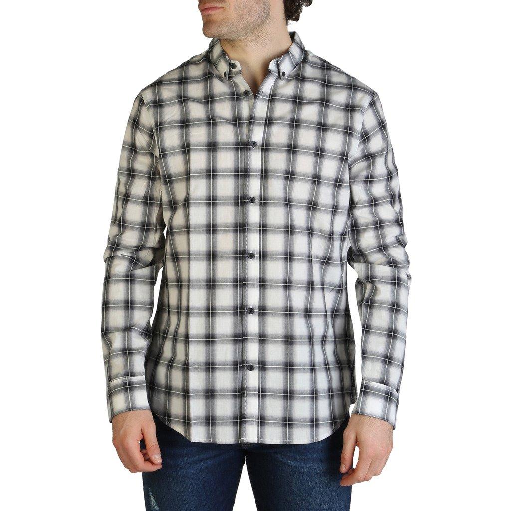 Armani Exchange Men's Shirt White 3ZZC49_ZNDEZ - white XS